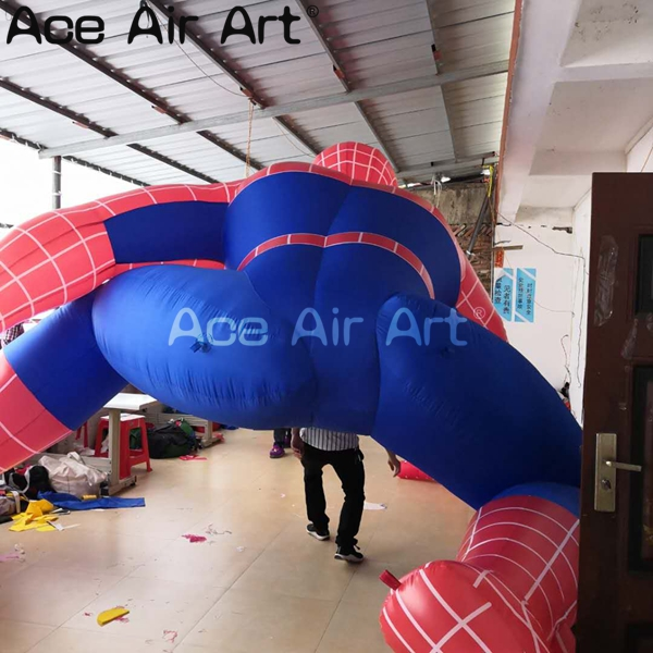 outdoor giant super hero inflatable spider man model for advertisng and activies