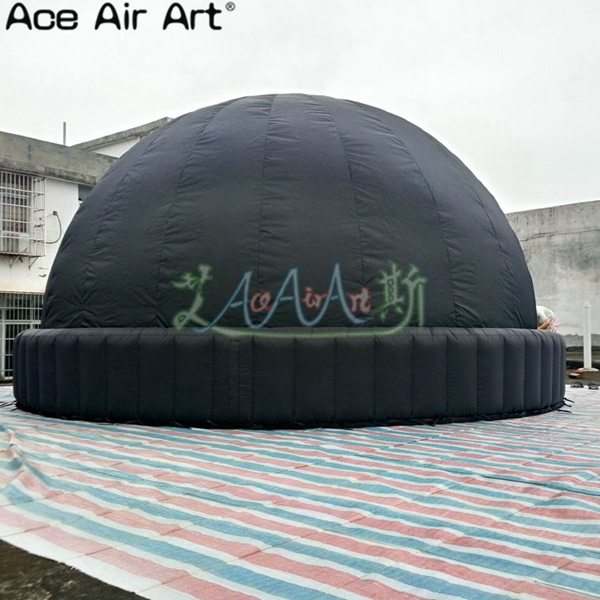 5m Diameter internal inflatable planetarium projection star dome for education and astronomy