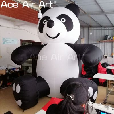 inflatable cartoon